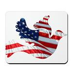 USA American Flag Freedom Dov Mousepad
