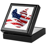 USA American Flag Freedom Dov Keepsake Box