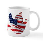 USA American Flag Freedom Dov Mug