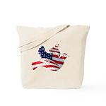 USA American Flag Freedom Dov Tote Bag