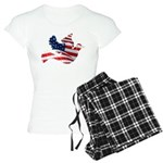 USA American Flag Freedom Dov Women's Light Pajama