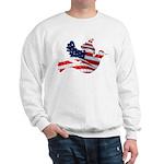 USA American Flag Freedom Dov Sweatshirt