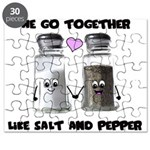 We go together like salt and Puzzle