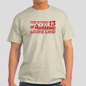 Funny Thirteen Year Old Light T-Shirt