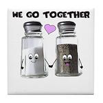 We belong together Tile Coaster