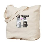 We belong together Tote Bag