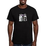 We belong together Men's Fitted T-Shirt (dark)