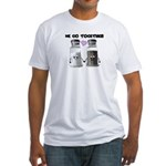 We belong together Fitted T-Shirt