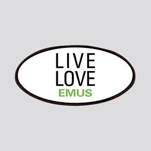 Live Love Emus Patches