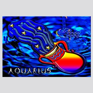 Aquarius Zodiac Sign Wall Art