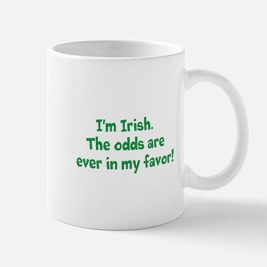 Irish, odds ever in my favor Mug