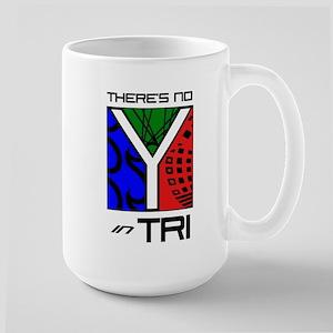 No Y in TRI Logo Items Large Mug