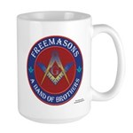 Freemasons. A Band of Brothers Large Mug