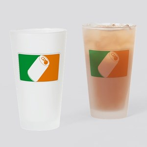 Major League Irish Drinking Glass