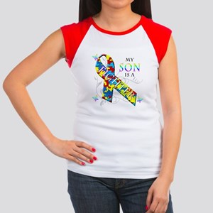 My Son is a Fighter Women's Cap Sleeve T-Shirt