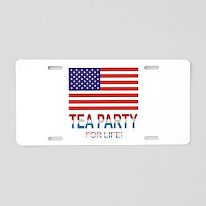 Tea Party Aluminum License Plate
