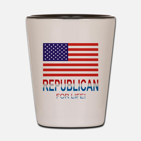 Republican Shot Glass