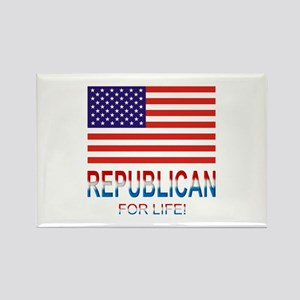 Republican Rectangle Magnet