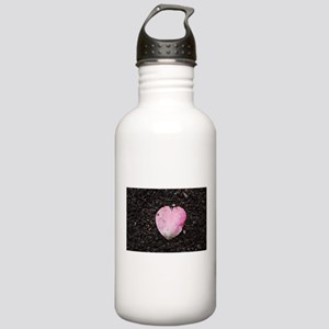 pale pink petal Stainless Water Bottle 1.0L