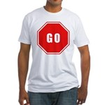 Stop Go Fitted T-Shirt