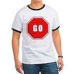 Stop Go Ringer T