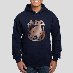 Hockey Goalie Crease Police Hoodie (dark)