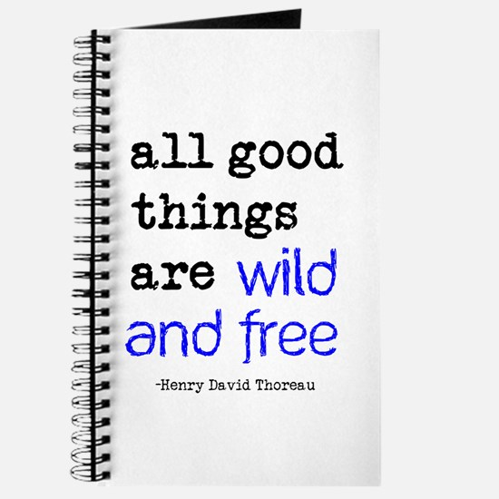 Wild and Free Journal