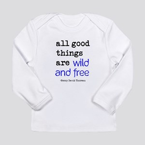 Wild and Free Long Sleeve Infant T-Shirt