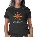 OMMC Badge White Lettering Women's Classic T-Shirt