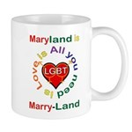 Maryland is Marry-Land Mug
