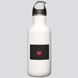 heart-shaped Stainless Water Bottle 1.0L