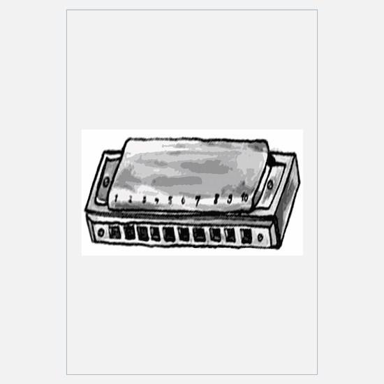 Cute Hohner harmonicas Wall Art