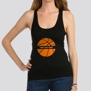 Basketball Personalized Racerback Tank Top