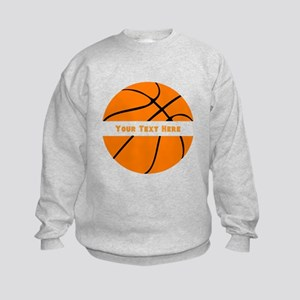 Basketball Personalized Kids Sweatshirt