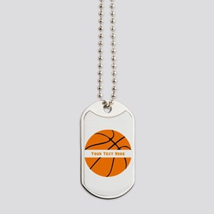 Basketball Personalized Dog Tags