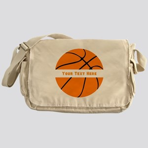 Basketball Personalized Messenger Bag