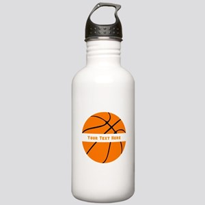Basketball Personalize Stainless Water Bottle 1.0L
