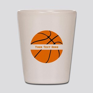 Basketball Personalized Shot Glass