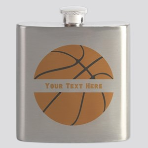 Basketball Personalized Flask