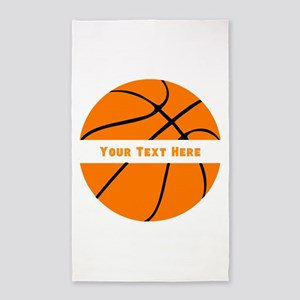 Basketball Personalized Area Rug