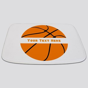 Basketball Personalized Bathmat