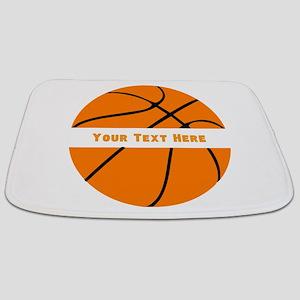 Basketball Personalized Bathmat