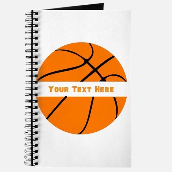 Basketball Personalized Journal