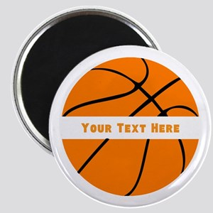 Basketball Personalized Magnet