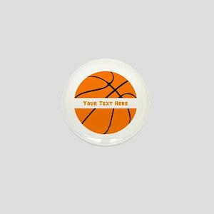 Basketball Personalized Mini Button