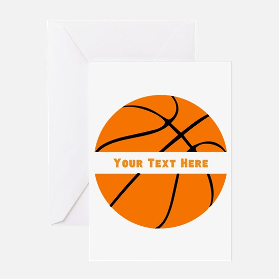 Basketball Personalized Greeting Card