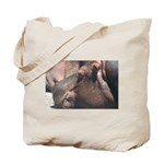 I Choose to Snooze Hippo Photo Tote Bag