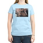 I Choose to Snooze Hippo Photo Women's Light T-Shi