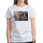I Choose to Snooze Hippo Photo Women's T-Shirt