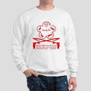Mankind and animals Hung Gar Sweatshirt